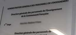 Personnel de l'enseignement : DPPR et pension